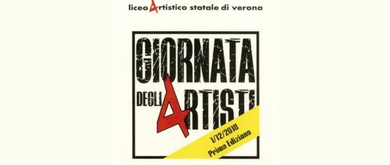 Giornata degli artisti, incontro tra Marcello Cutino e gli studenti del Liceo artistico di Verona